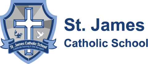 St. James Catholic School logo